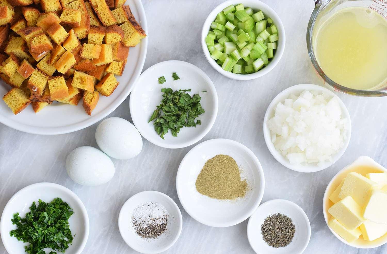 Keto Stuffing ingredients