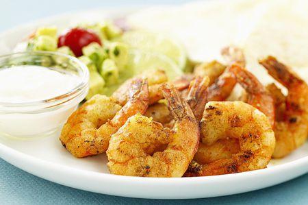 Grilled Shrimp With Lemon Aioli Recipe