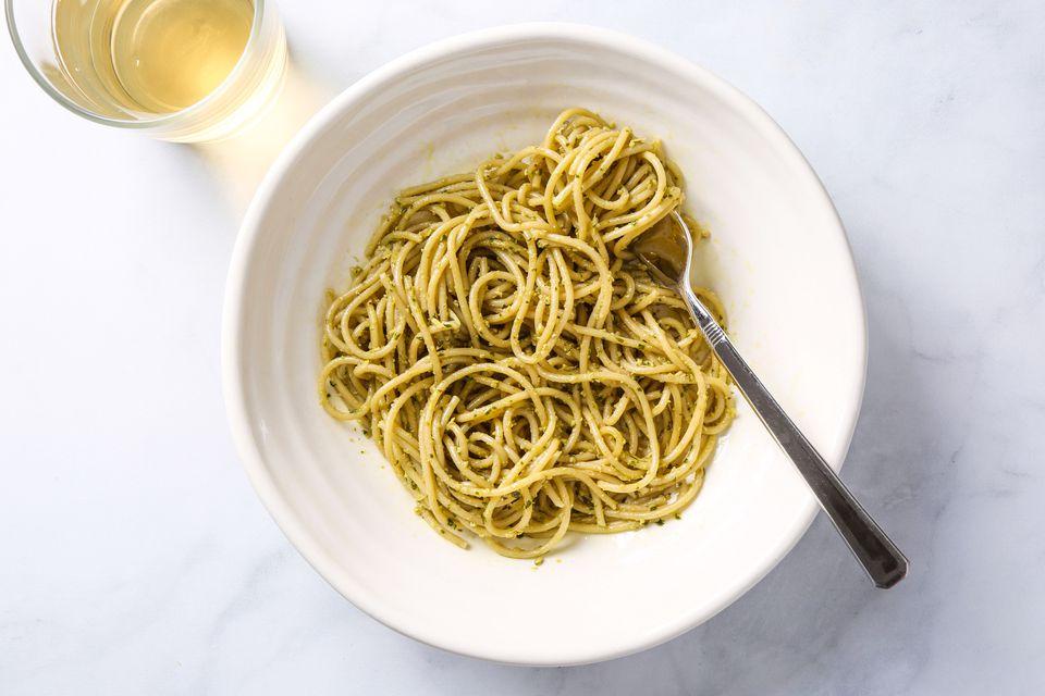 Vegan Artichoke and Walnut Pesto