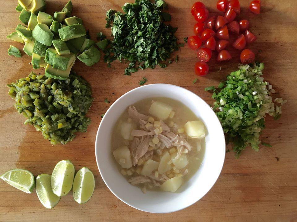 Chicken Corn Potato Soup