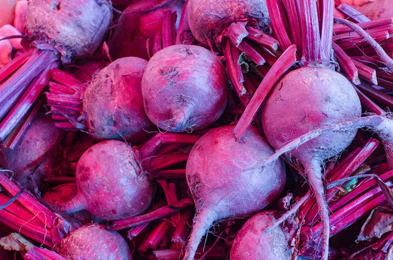 Full frame shot of common beets