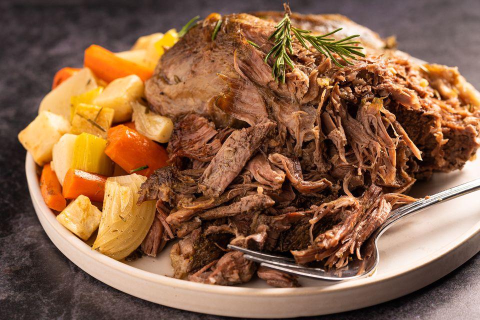 7-Hour Roast Leg of Lamb