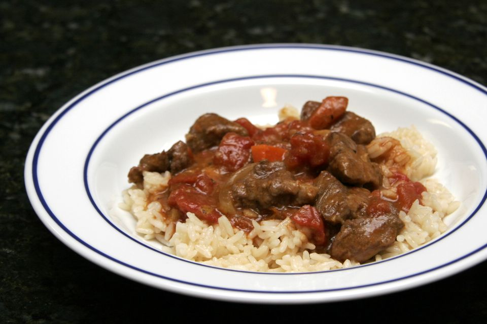Spicy Lamb Stew