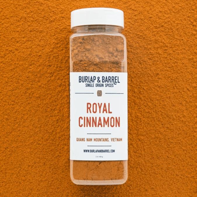 Burlap and Barrel Royal Cinnamon
