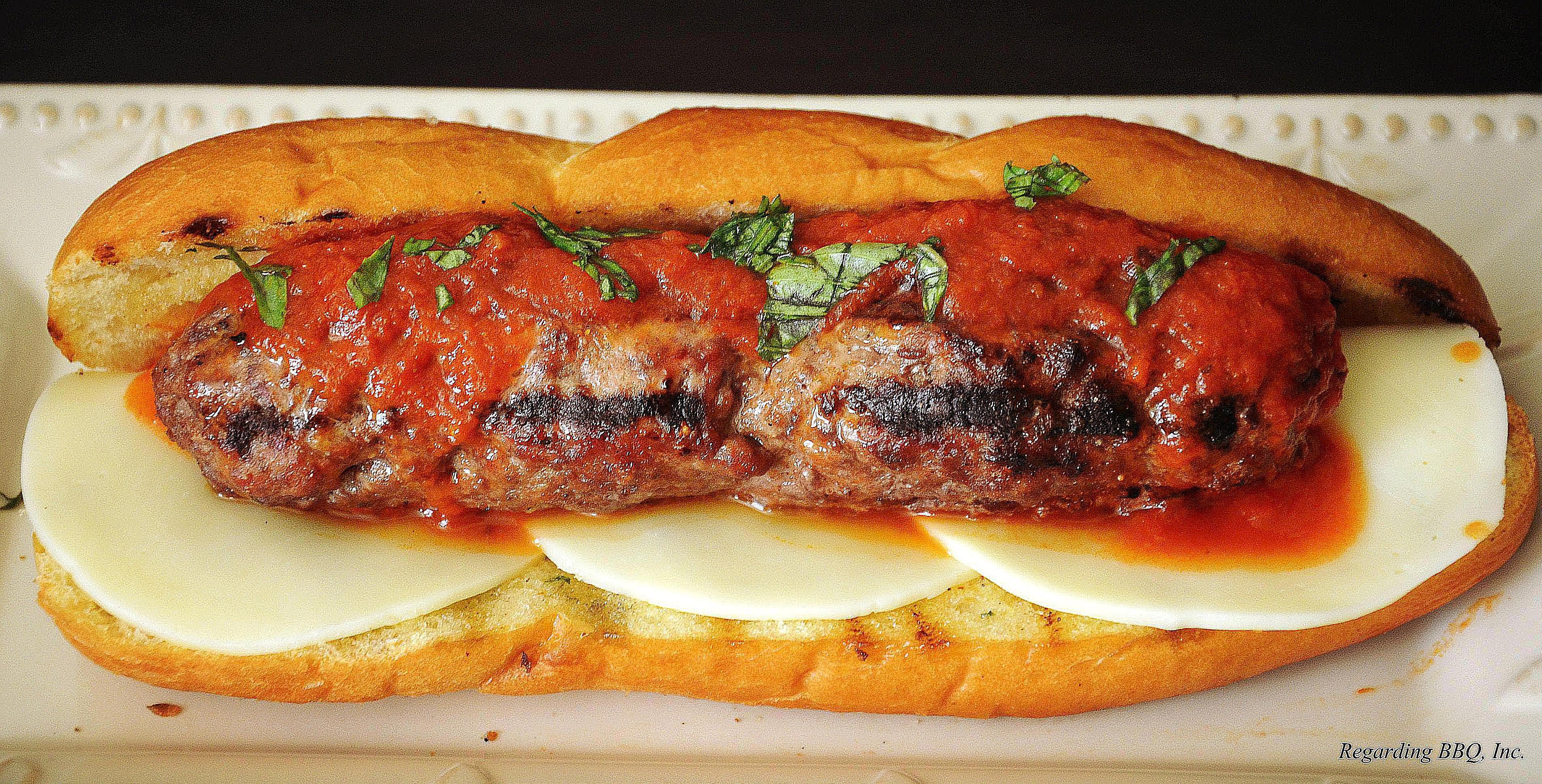 The Ultimate Meatball Sandwich