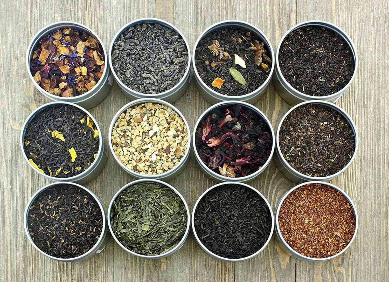 Solstice Tea Traders Loose Leaf Tea Sampler