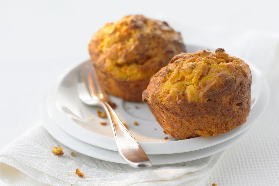Spiced Pumpkin Pecan Muffins