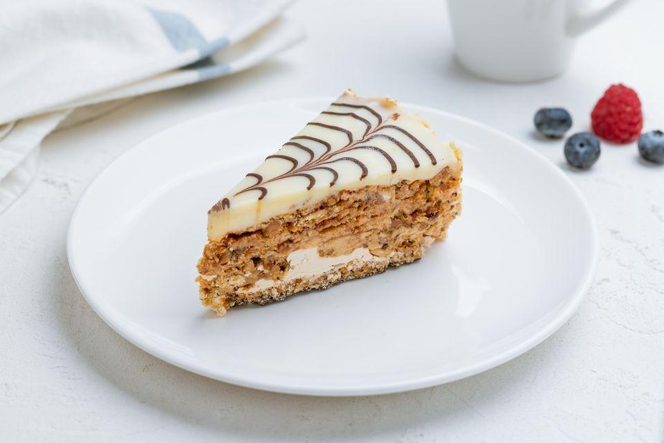 Húngaro Esterházy Torte (Esterházy Torte)