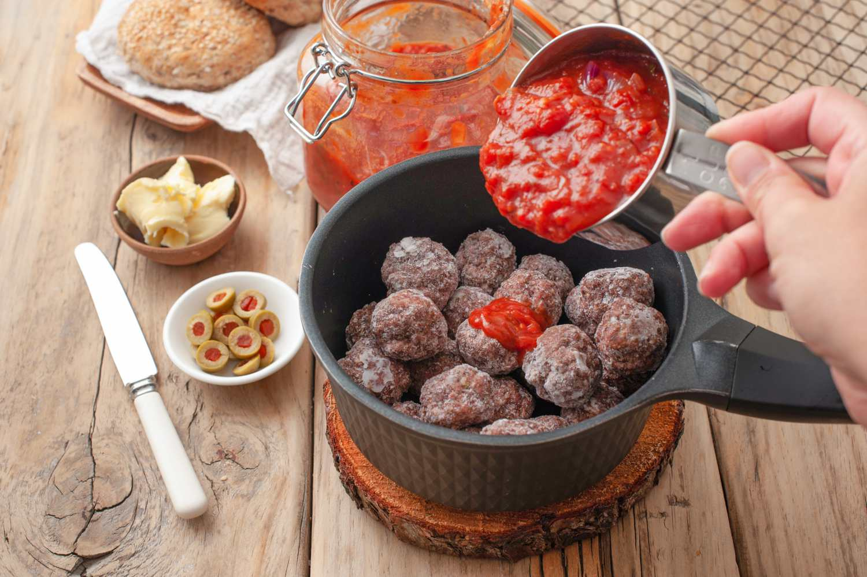 Meatball Monster Sandwiches Recipe
