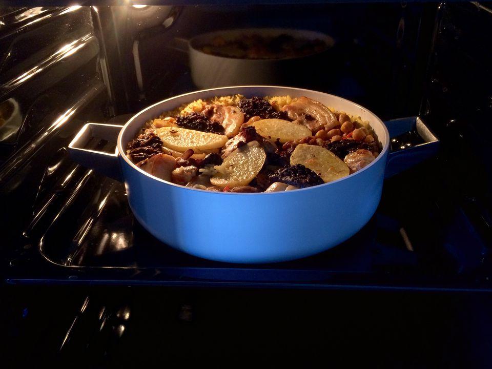 Arroz al Horno, una receta de arroz español al horno