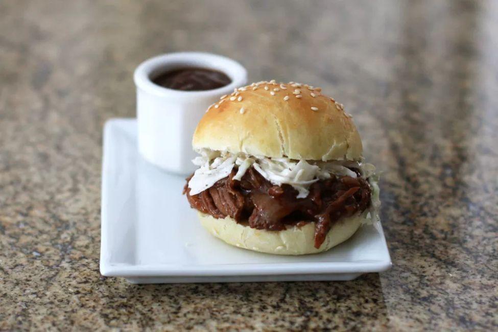 Crock Pot Texas Barbecued Beef