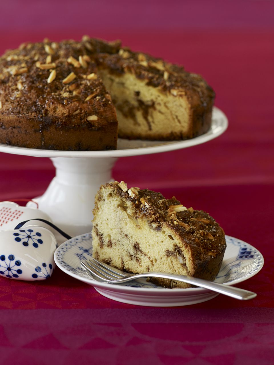 Receta escandinava de pastel de almendras favorita de los Estados Unidos
