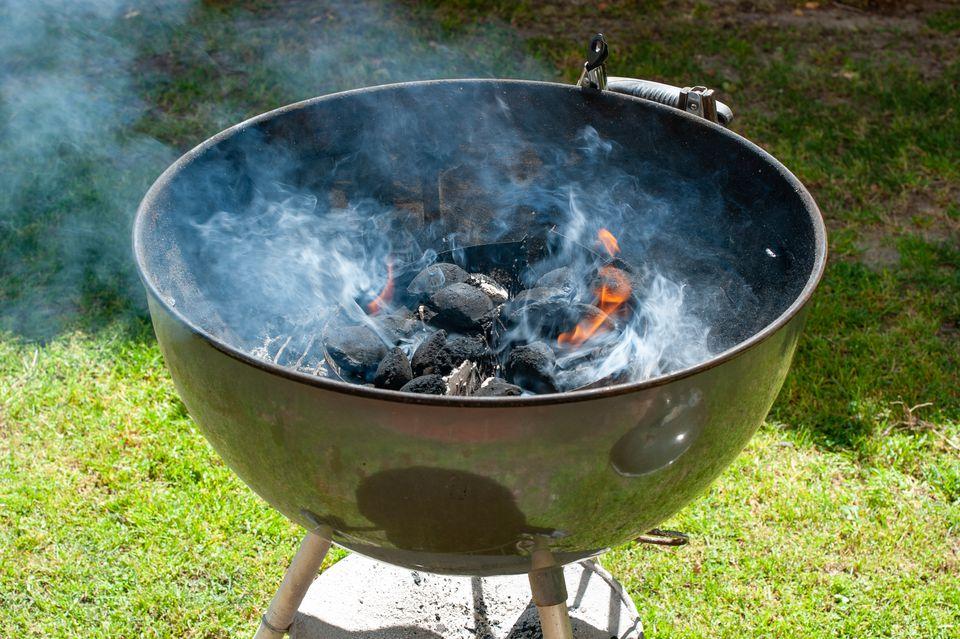 Prepare grill