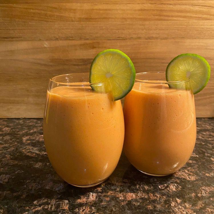 Papaya Smoothie Tester Image