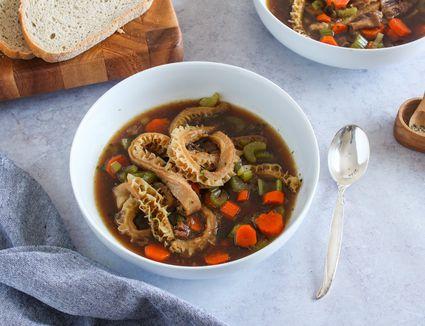 Polish tripe soup recipe flaki zupa