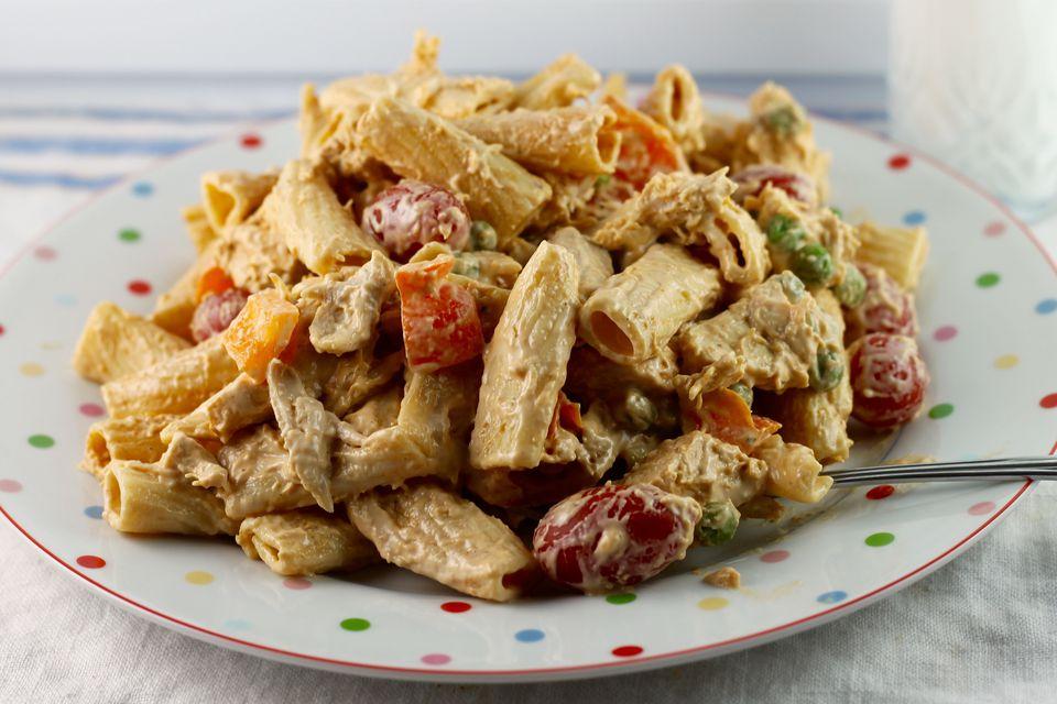 Chicken Riggies Salad