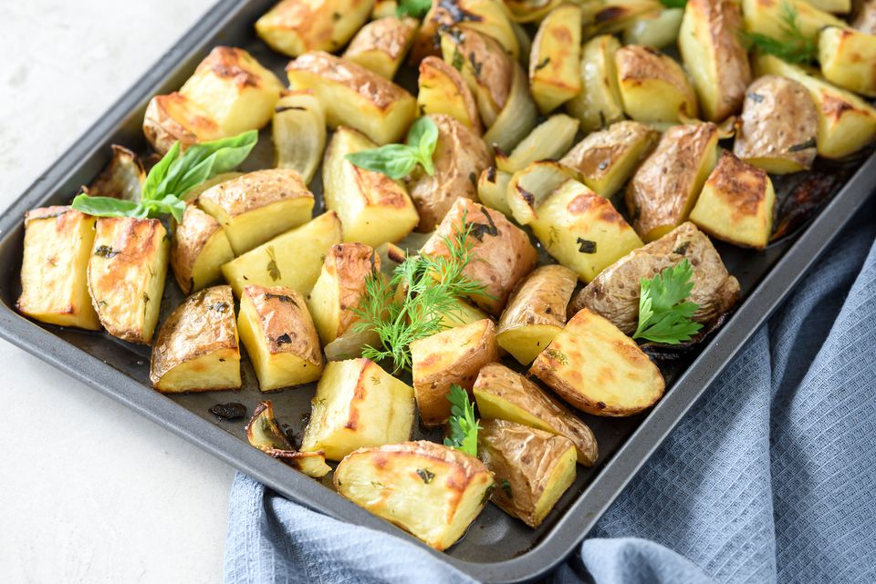 Herb roasted red potatoes recipe