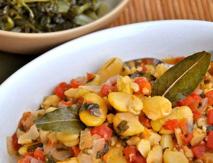 Fava Bean Stew - Koukia Yahnista