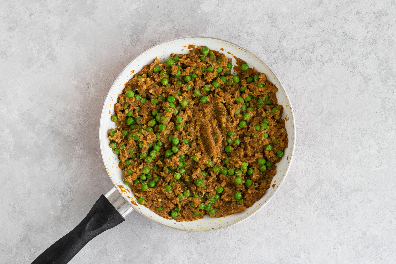 Add the peas