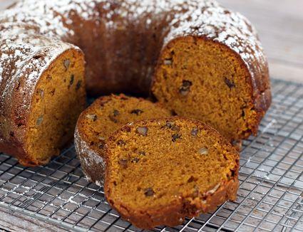 Spiced Pumpkin Bread With Walnuts and Optional Raisins