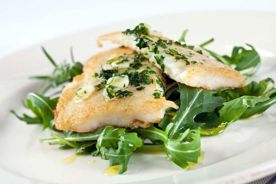 Lemon Herb Halibut