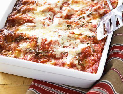 Lasagna baking dish