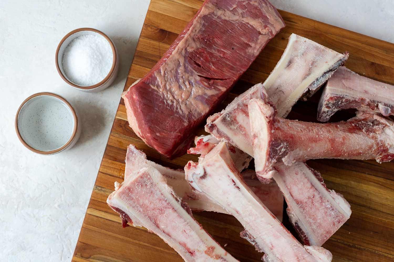 Bones and Brisket ingredients