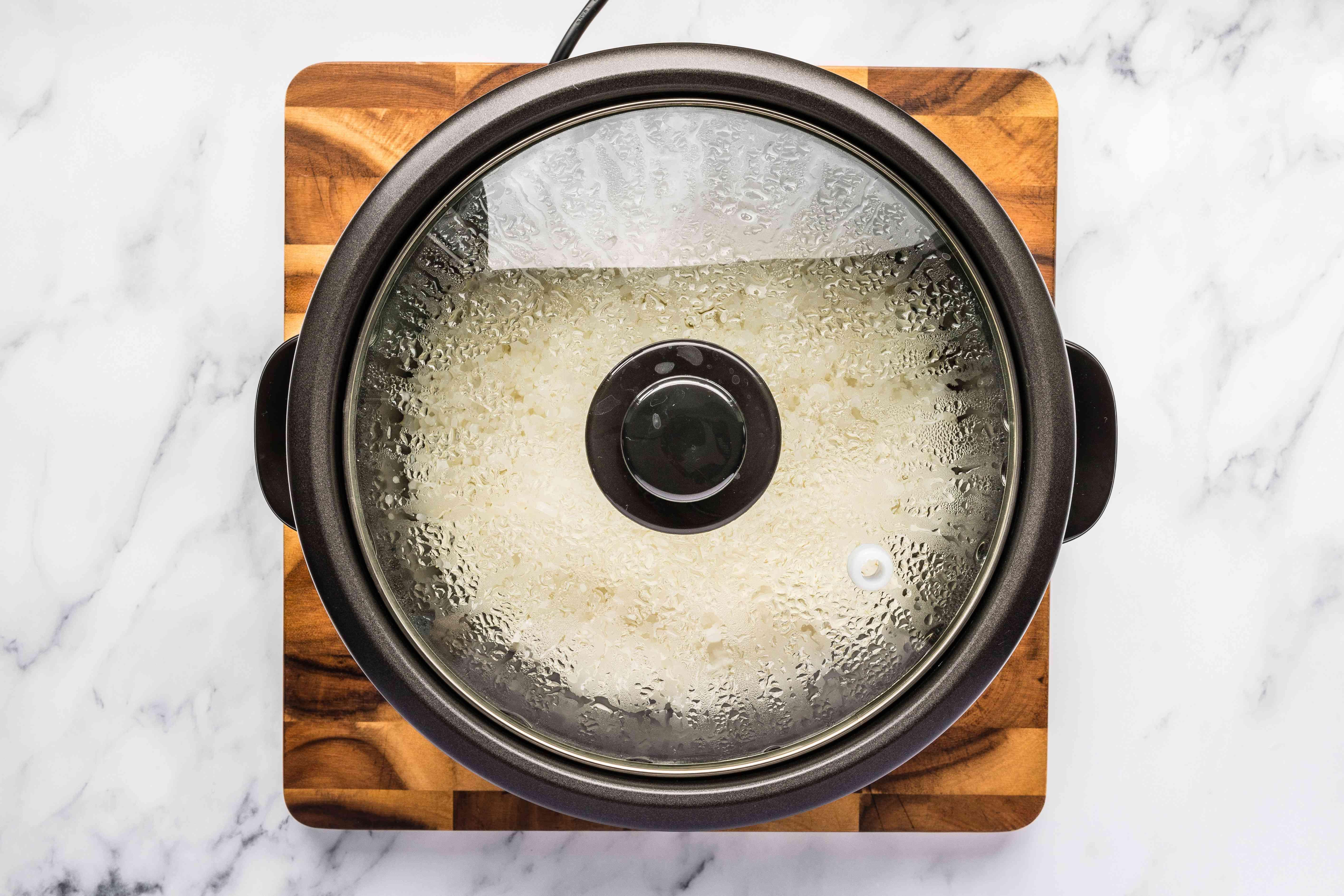 Start cooker
