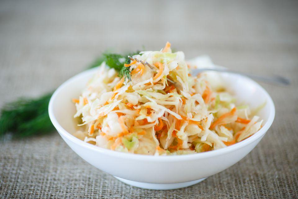 Carrot kohlrabi slaw