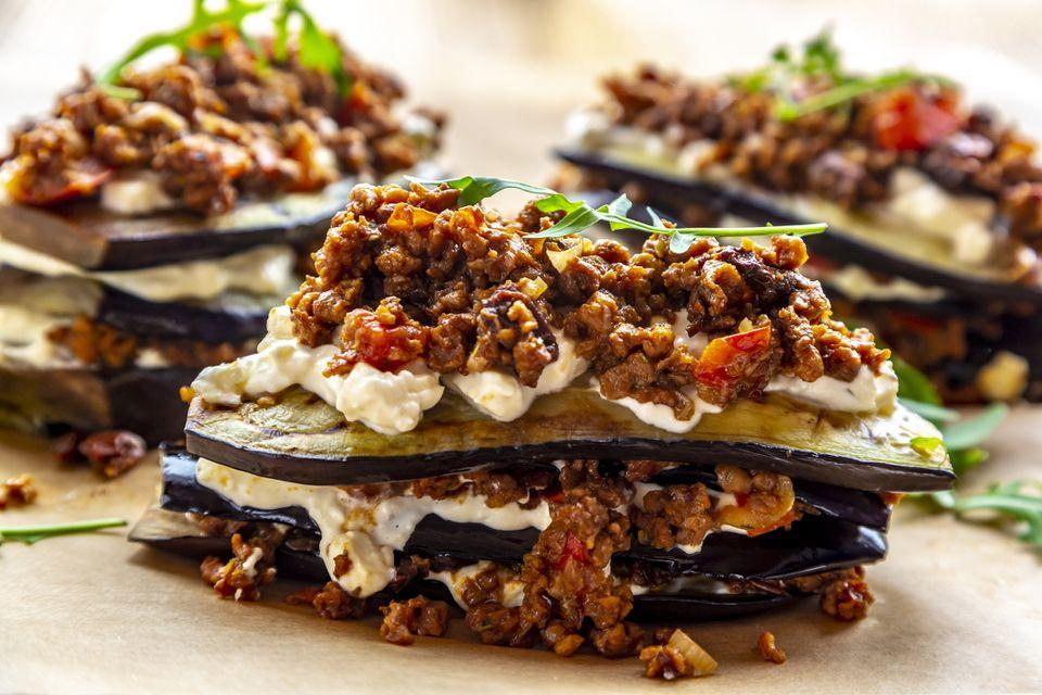 vegan eggplant lasagne