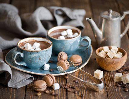 Mounds bar hot cocoa