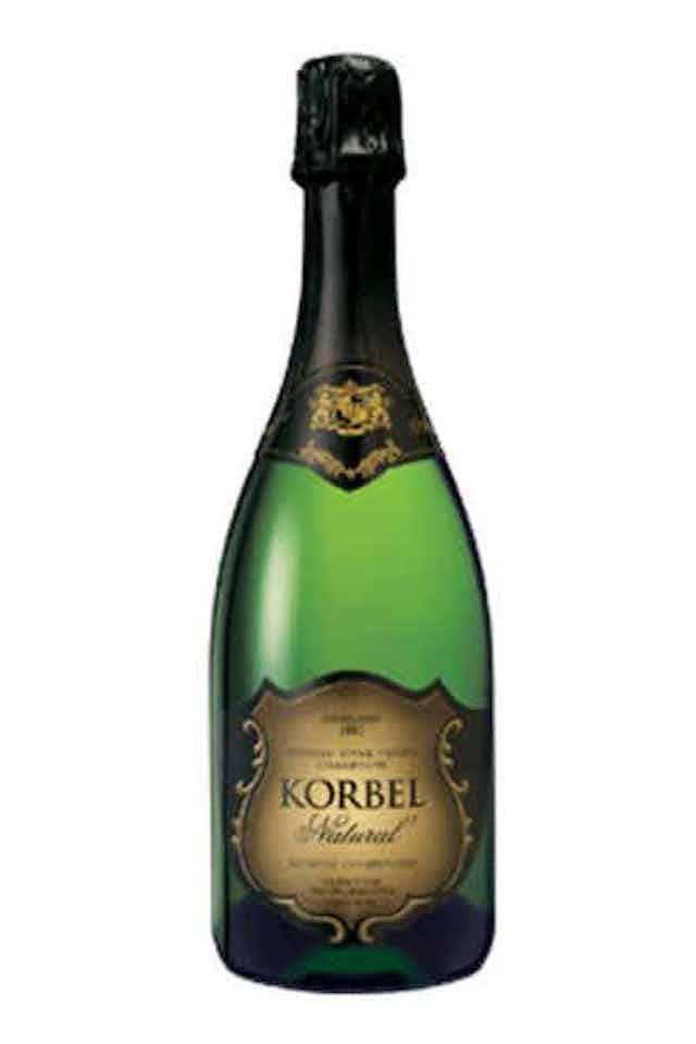 Korbel Natural California Champagne