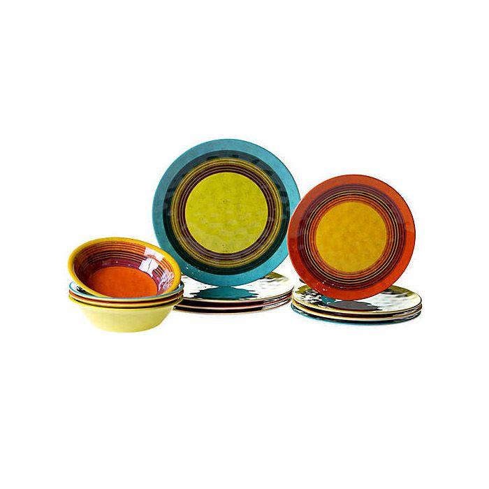 Certified International Sedona 12-Piece Dinnerware Set