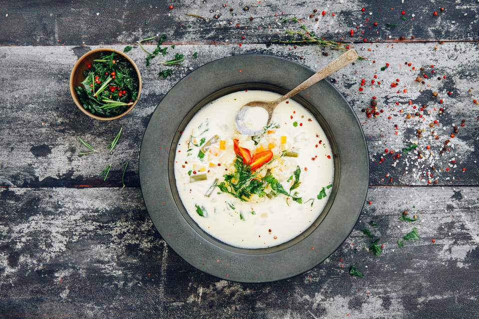 Creamy Mustard Soup