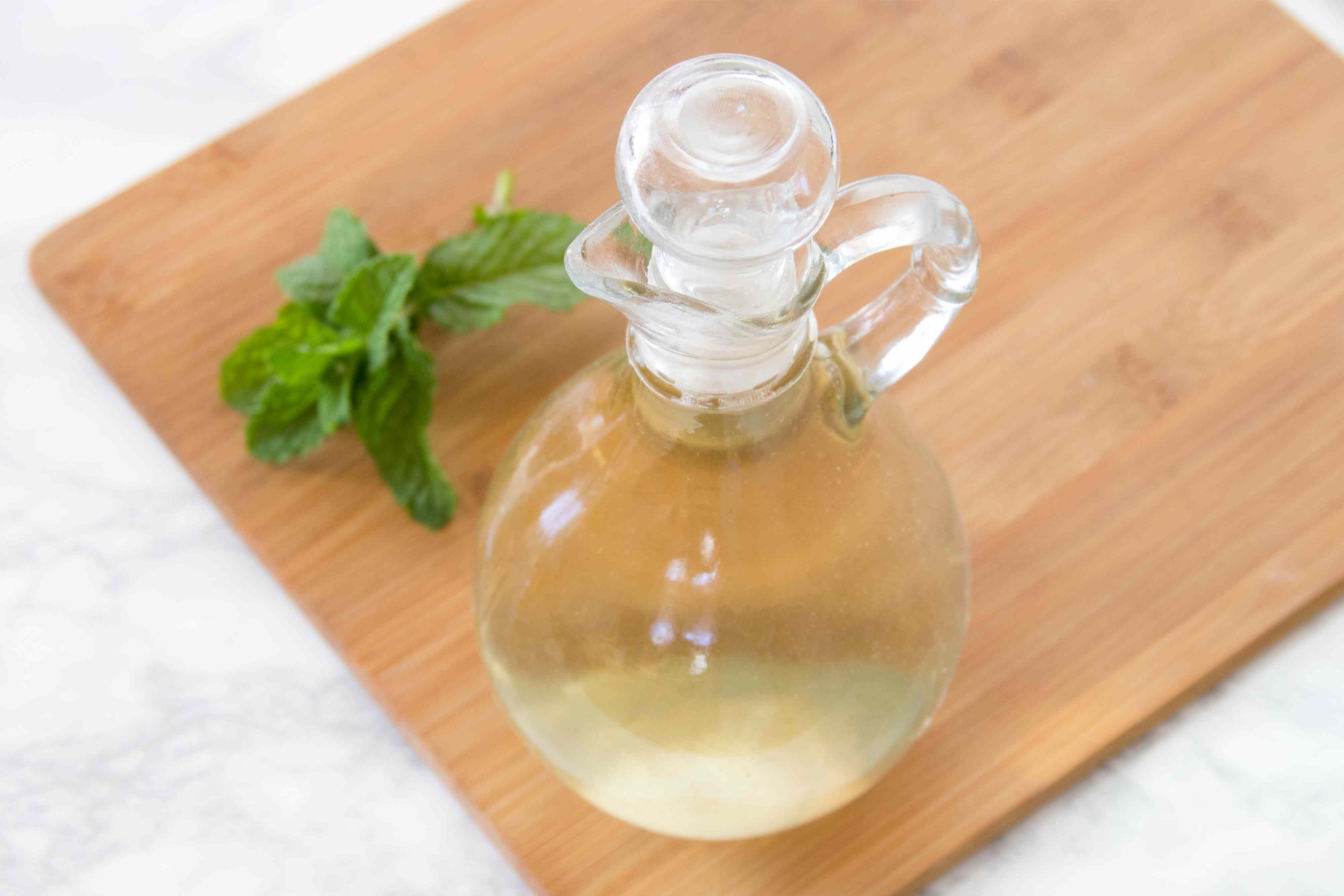 Mint Syrup for Mojito Pitcher