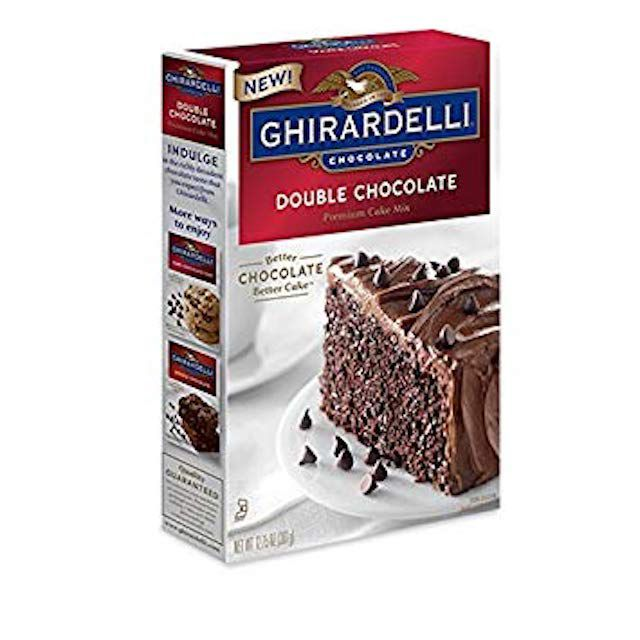 Ghirardelli Double Chocolate Premium Cake Mix