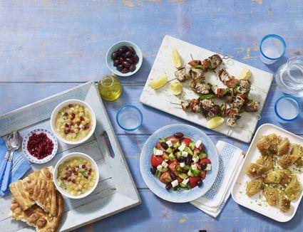 Greek meal