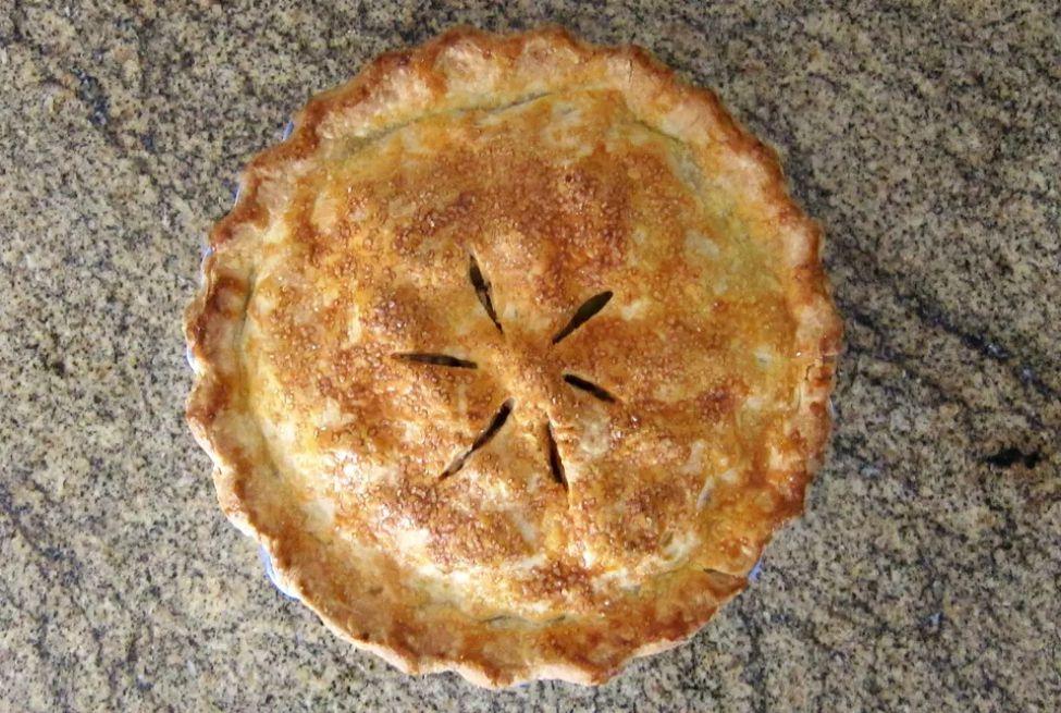 Apple Pie With Cream Cheese Pastry