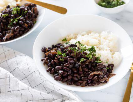 Easy homemade black beans recipe