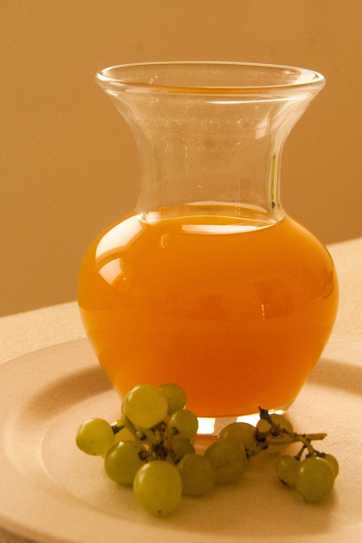 Verjus is the juice of unripe grapes.