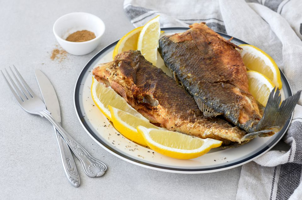 Whiting Moroccan fried fish recipe