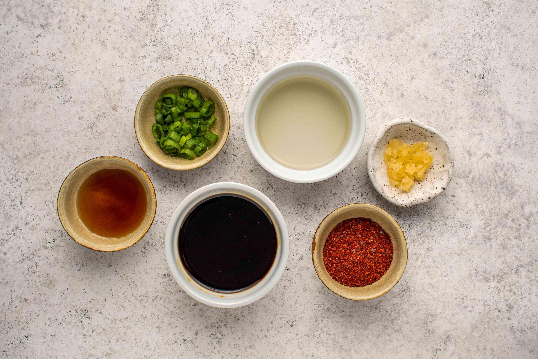 Korean Spicy Dipping Sauce ingredients