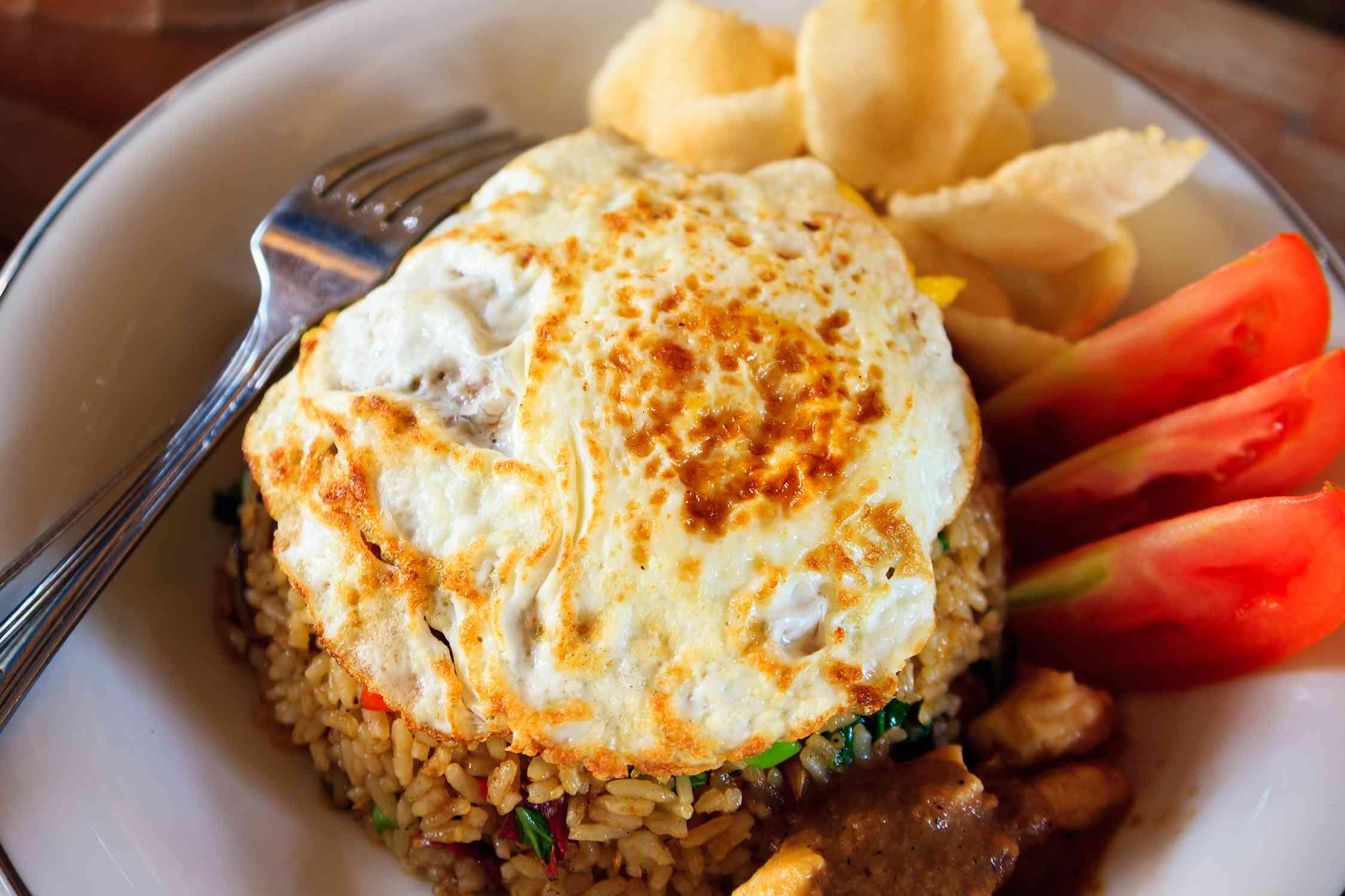 nasi goreng indonesian fried rice recipe