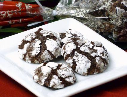 Brownie Crackle-top Cookies Recipe