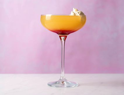 Whipped Sunset Cocktail