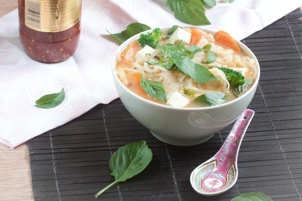 Vegan Pho Noodle Soup