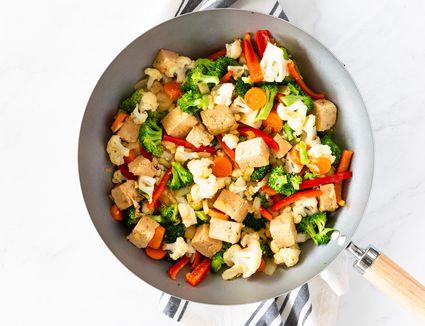 In a wok