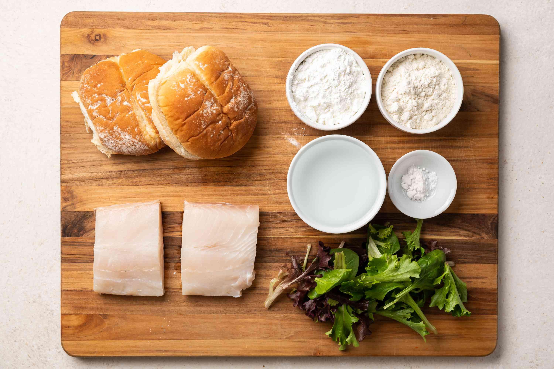 fish sandwich ingredients