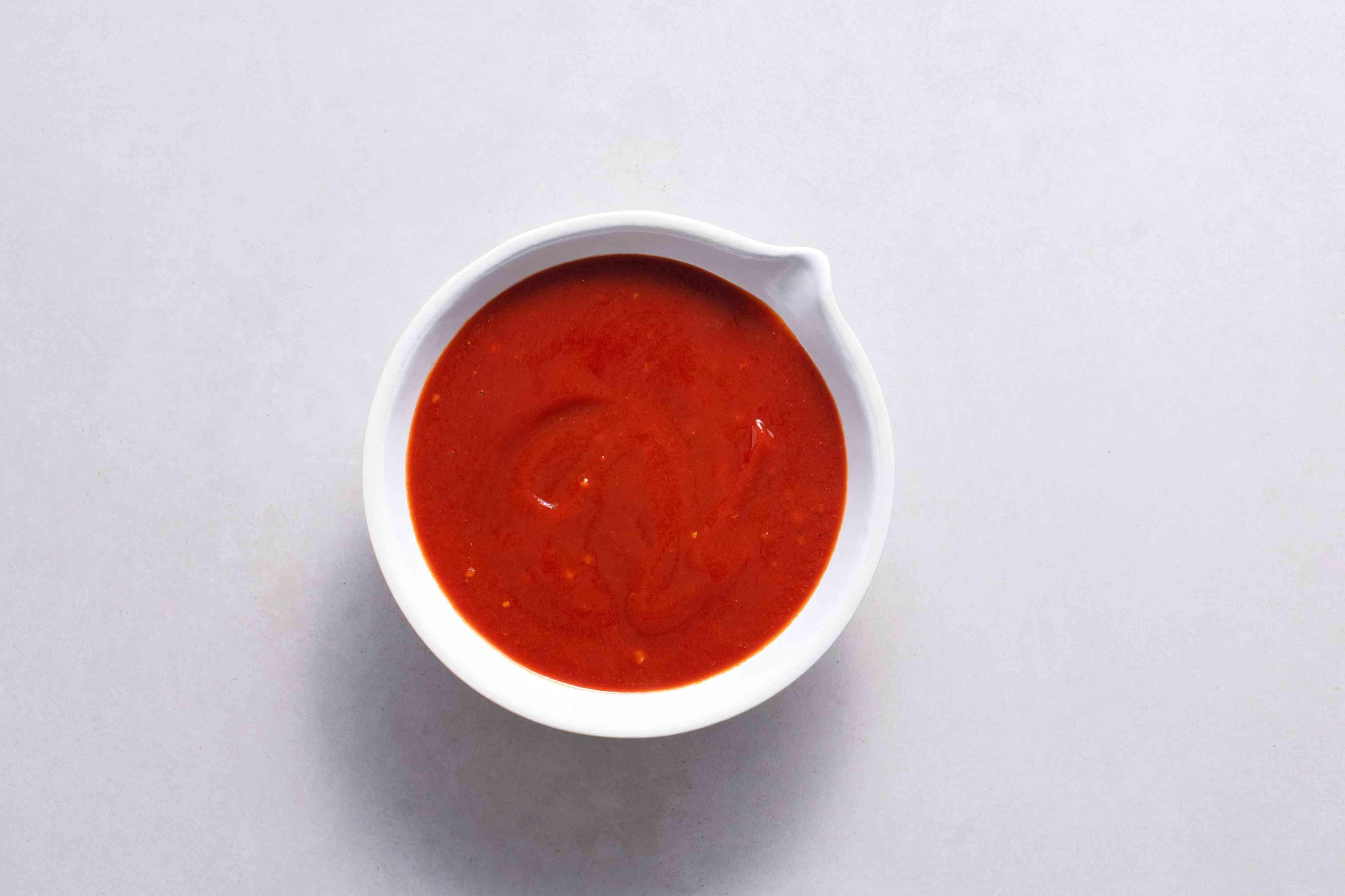 Kansas City Rib Sauce in a bowl