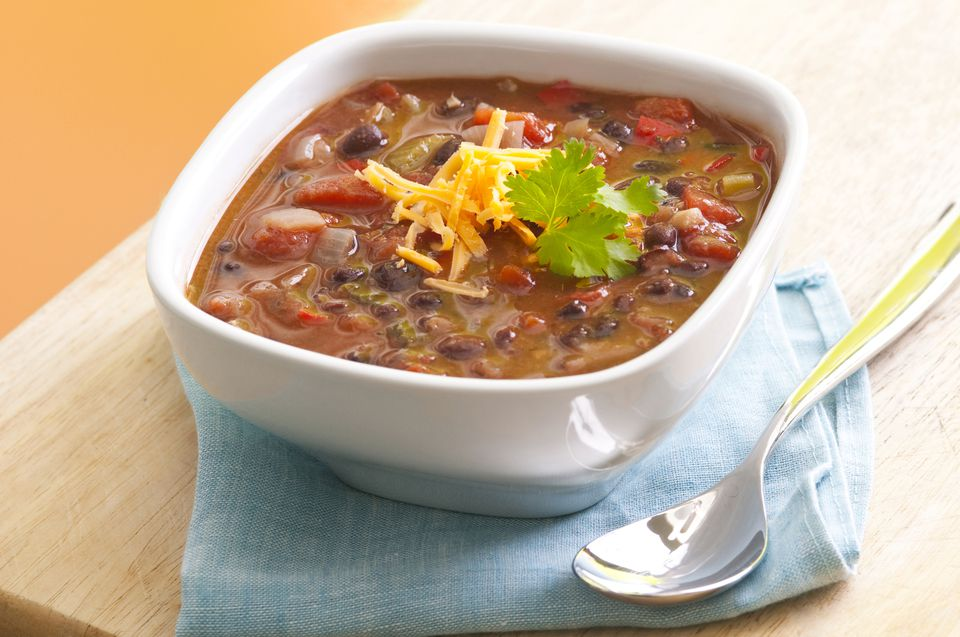 Black Bean Soup with Tomatoes